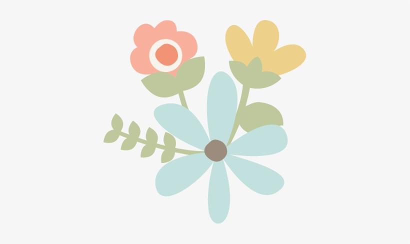 Flowers Cut File For Scrapbooking Flower Free Flower - Flower, transparent png #1307342
