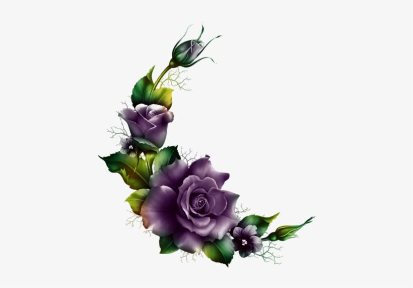 Hibiscus Flowers, Love Flowers, Beautiful Flowers, - Flower Moonbeam Decoupage Png, transparent png #1307485