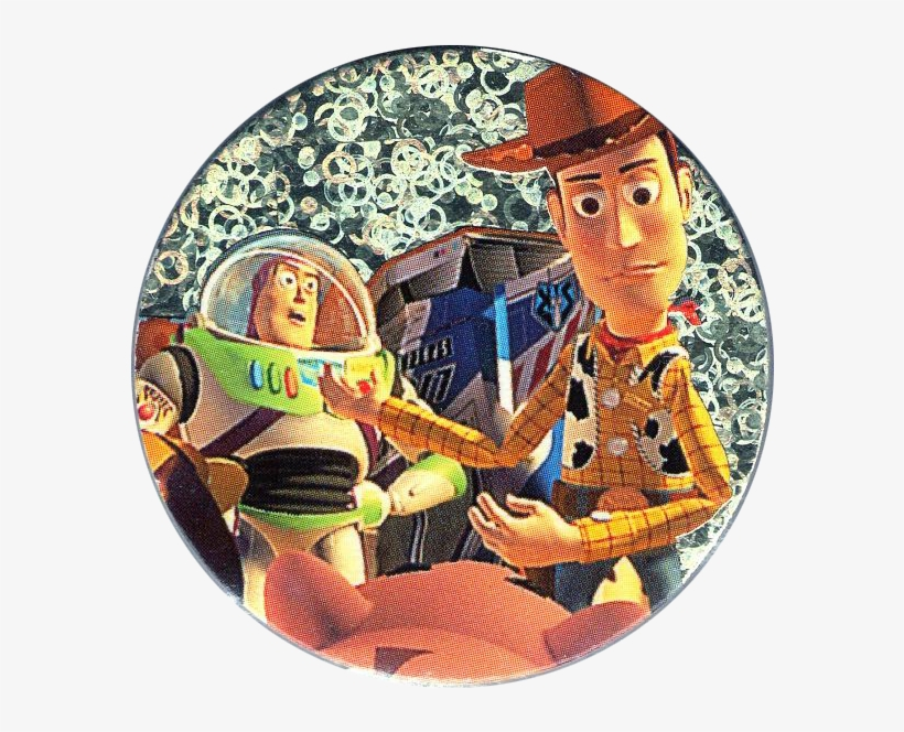 Toy Story Woody And Buzz Png Download - Wonderful World Of Disney Fabric Art Toy Story, transparent png #1308820