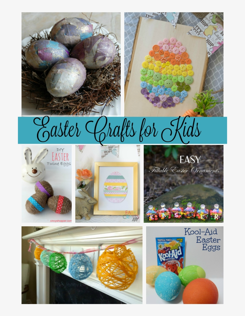 Easter Crafts For Kids Via Pinterest Kool Aid Packet Free