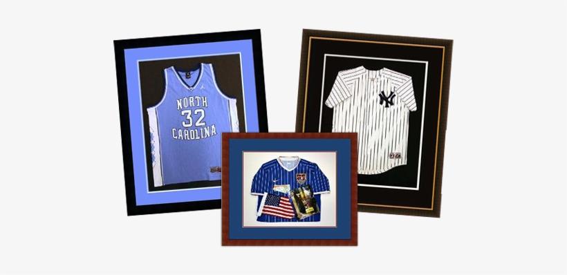 Shadowbox, Sports, Jerseys, Custom, Framing, Basketball, - Logos And Uniforms Of The New York Yankees, transparent png #1309715