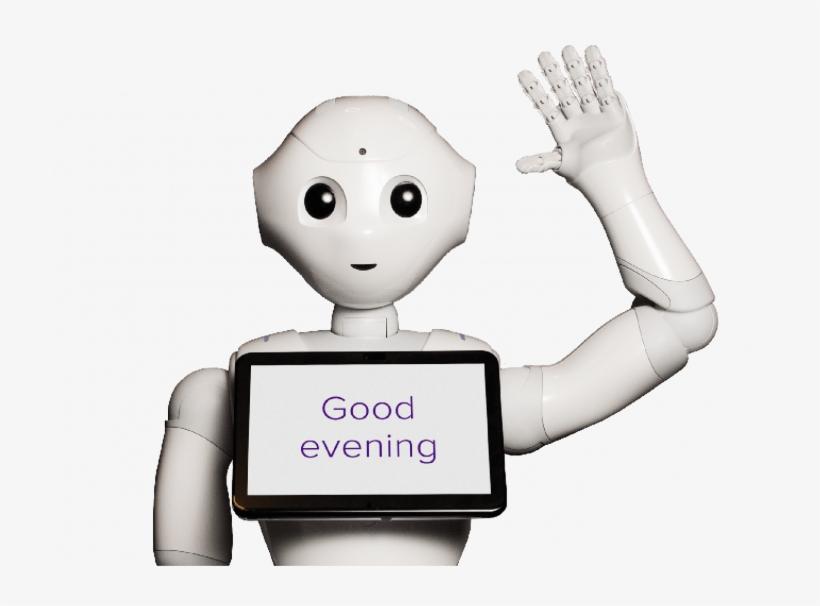 Hi, I'm Pepper - Welcoming Robot, transparent png #1310329