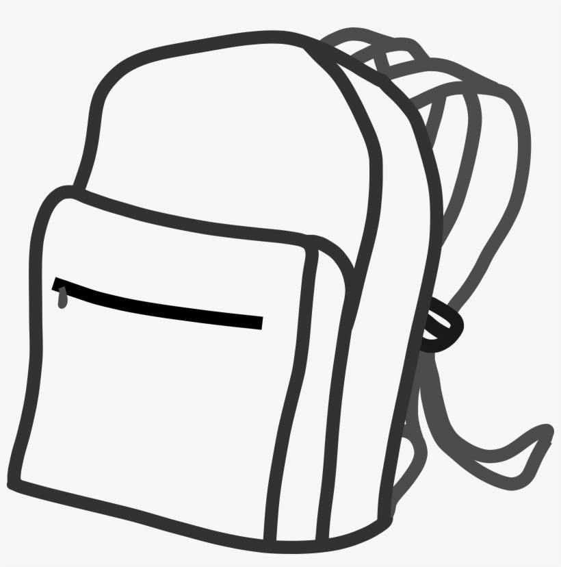 This Free Icons Png Design Of School Bag, transparent png #1310839