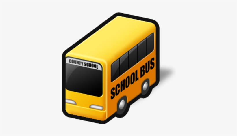 School Bus Png - School Bus Icon Png, transparent png #1311033