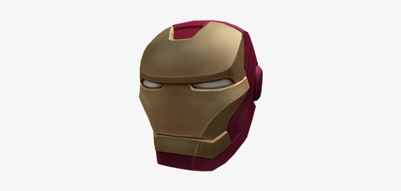 Iron Man Helmet Iron Man Mask Roblox Free Transparent Png