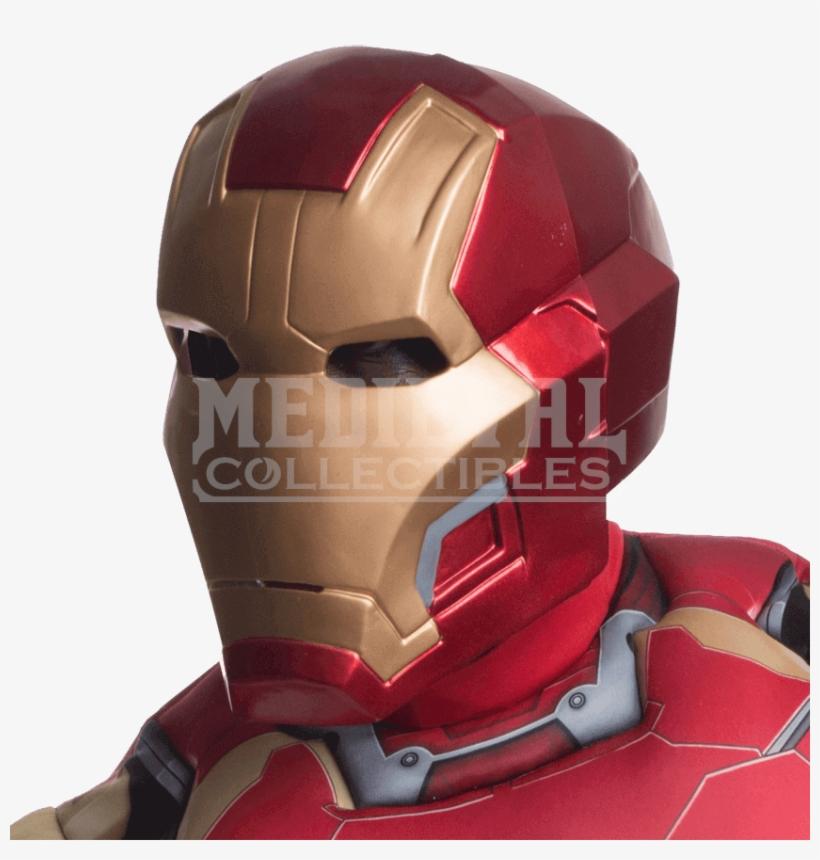 Age Of Ultron Adult Iron Man Mask - Iron Man Mark 43 Helmet, transparent png #1311604