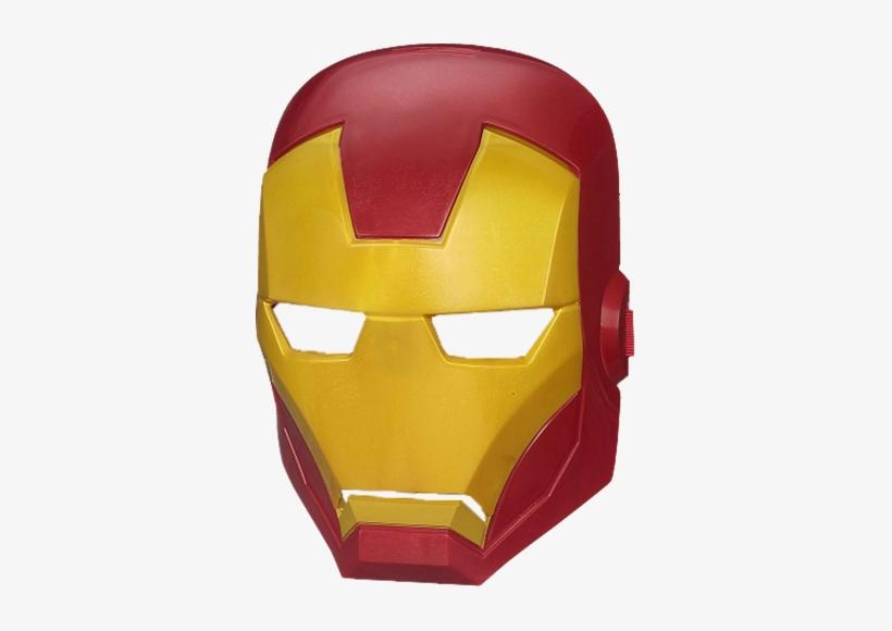 Iron Man Hero Mask - Mask Of Captain America Iron Man, transparent png #1312062