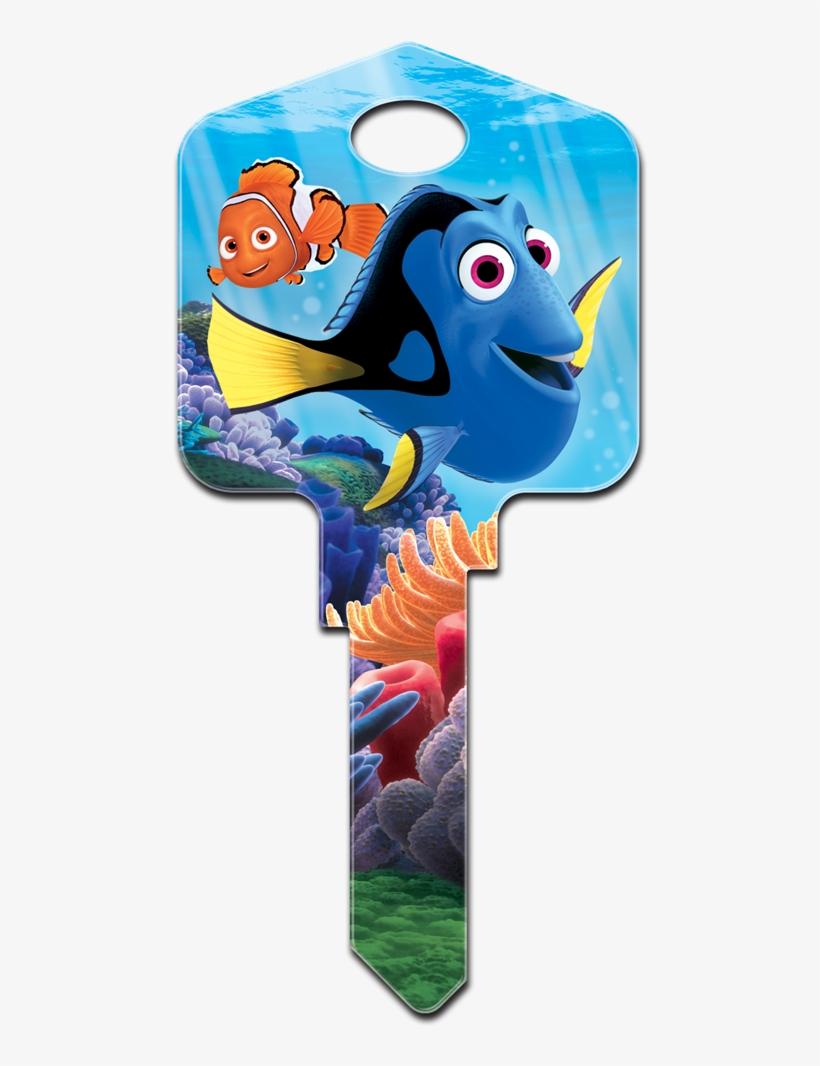 D10-sc1 Sc1 Finding Nemo House Key [sc1 Finding Dory] - Finding Nemo House Key, transparent png #1312773
