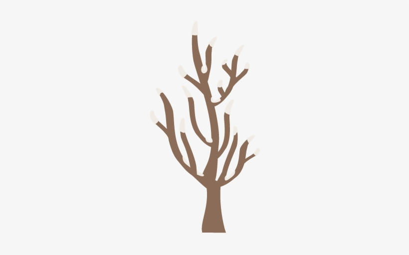 Winter Tree Svg Cutting Files Winter Svg Cuts Winter - Winter Tree Clipart Png, transparent png #1312887