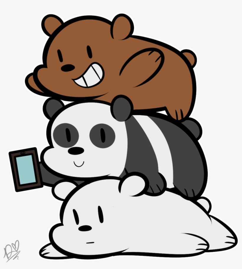 We Bare Bears Iphone Wallpapers Panda Ice Bear And Grizzly