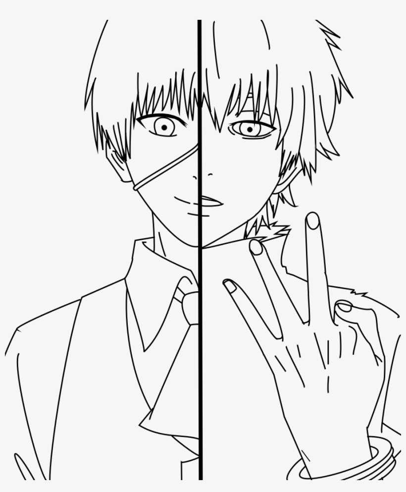 Tokyo Ghoul Line Art Wiring Diagrams Circuit Block Diagram Features The Max98400 Class D Audio Amplifier Quick Coloring Pages Ken Kaneki Lineart Rh Key Com Drawings Pencil