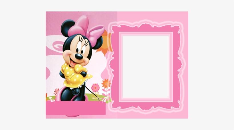 Disney Babies Clip Art - Minnie Mouse Frame Png, transparent png #1318739