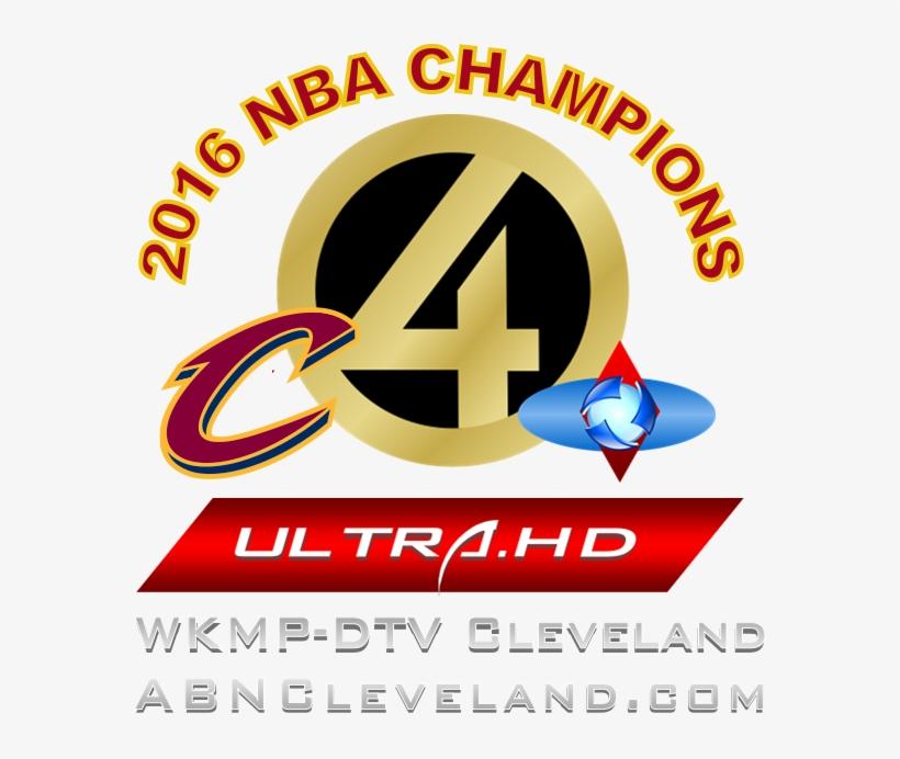 Wkmp Logo Cavs - Nba Cleveland Cavaliers 4 X 8 Set, transparent png #1318843