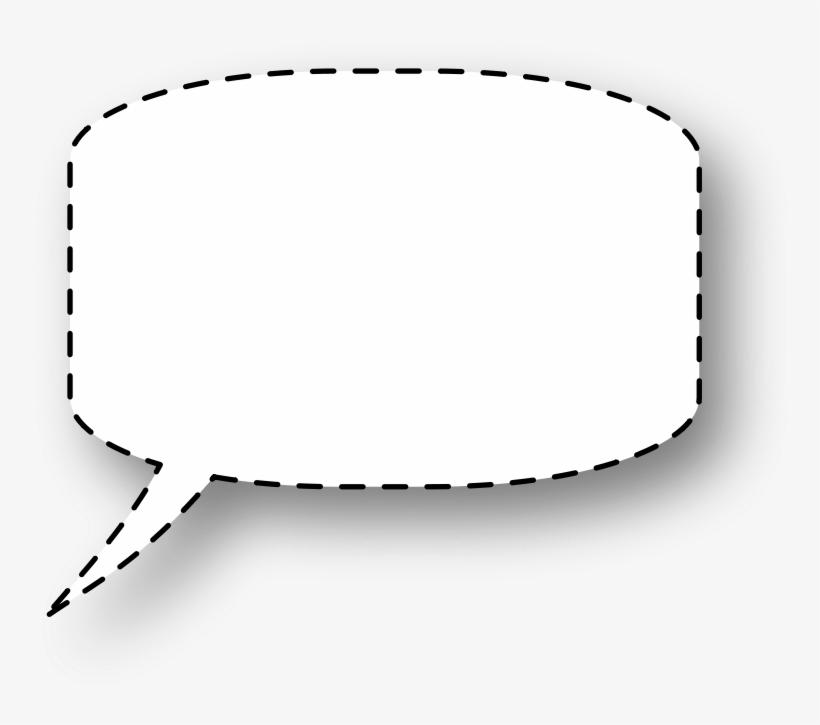 Free Vector Speech Bubble - Whispering Speech Bubble, transparent png #1319354