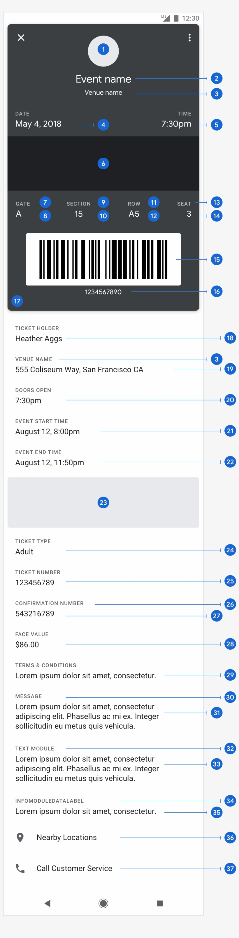 Google Pay Api For Passes Boarding Pass Template - Google