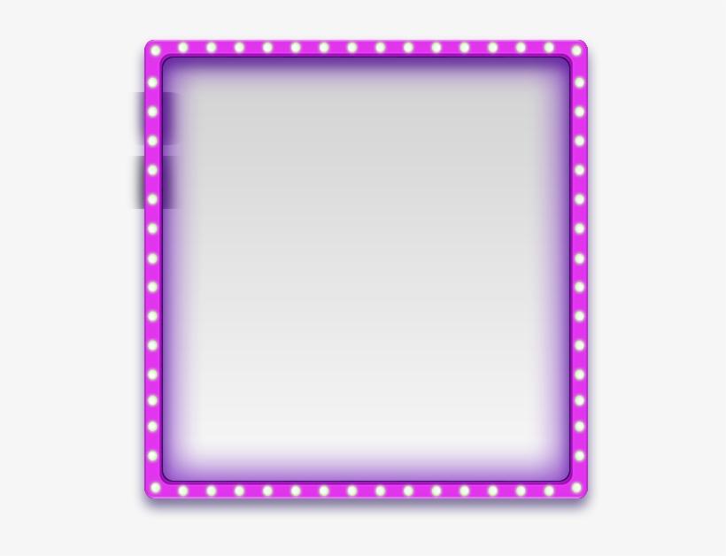 Mq Purple Frame Frames Border Borders - Simple Frame Border Clipart, transparent png #1320010