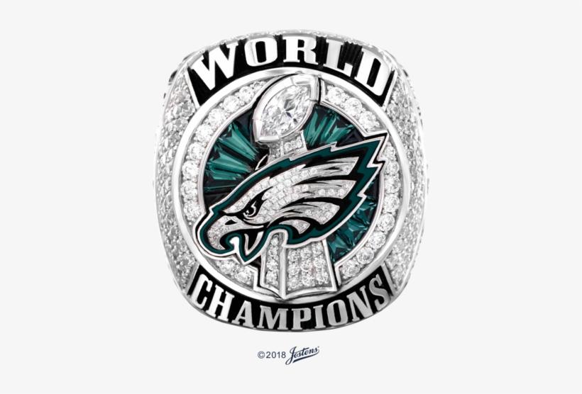Cast In 10-karat White Gold, The Philadelphia Eagles - Official Eagles Super Bowl Ring, transparent png #1320062