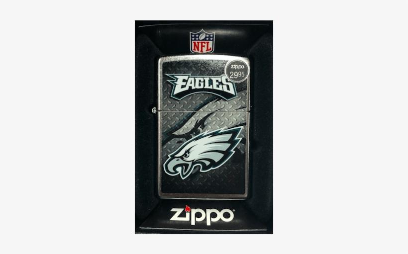 Philadelphia Eagles Zippo Lighter - Philadelphia Eagles Address Logo, transparent png #1320088