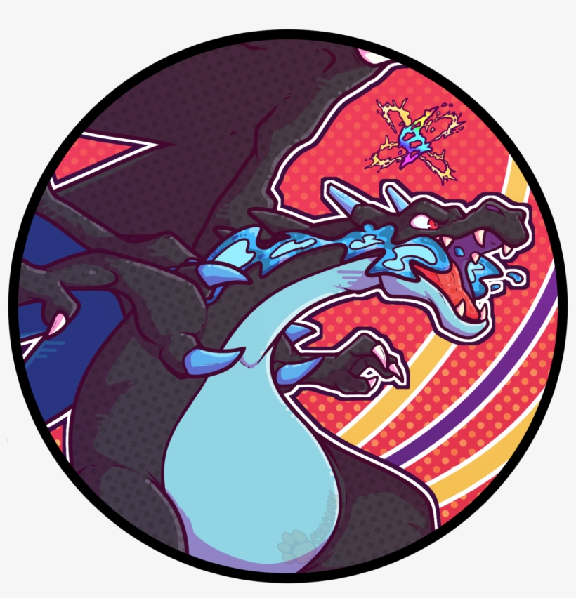 Pokemon Icon Mega Charizard X Pokemon Icon Free