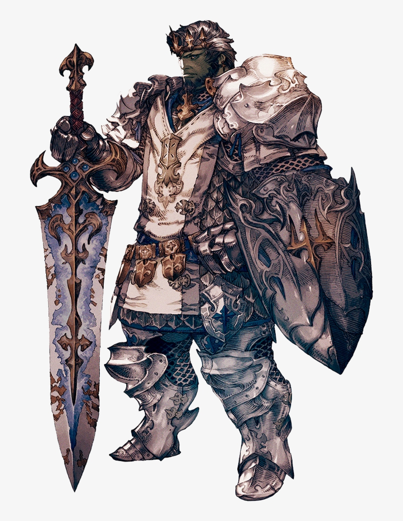 For Centuries, The Elite Of The Sultan-sworn Have Served - Final Fantasy Xiv Paladin, transparent png #1323468