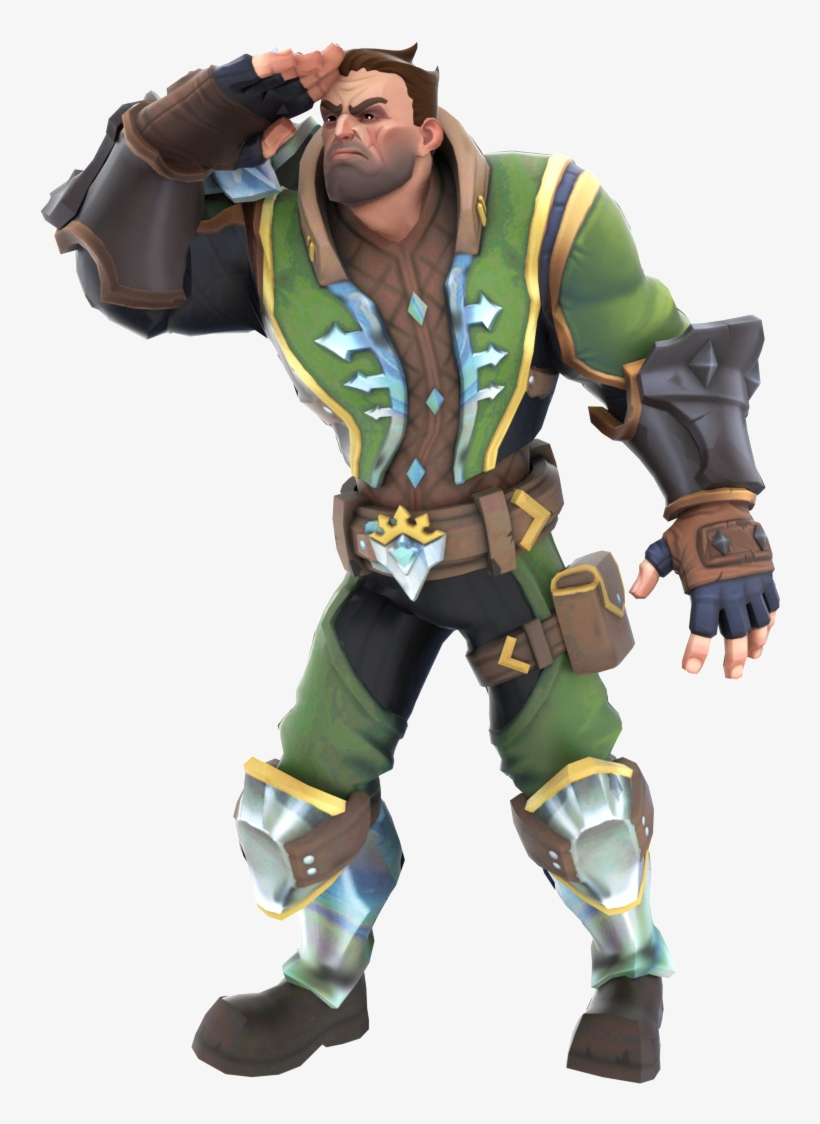 It's Almost Like, The Solution Was Here All Along - Viktor Paladins Old Vs New, transparent png #1323732