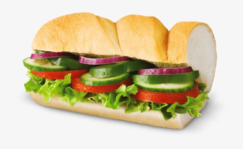 Subway Sweden Menu - Sandwiches Subway Veggie Delight, transparent png #1326165