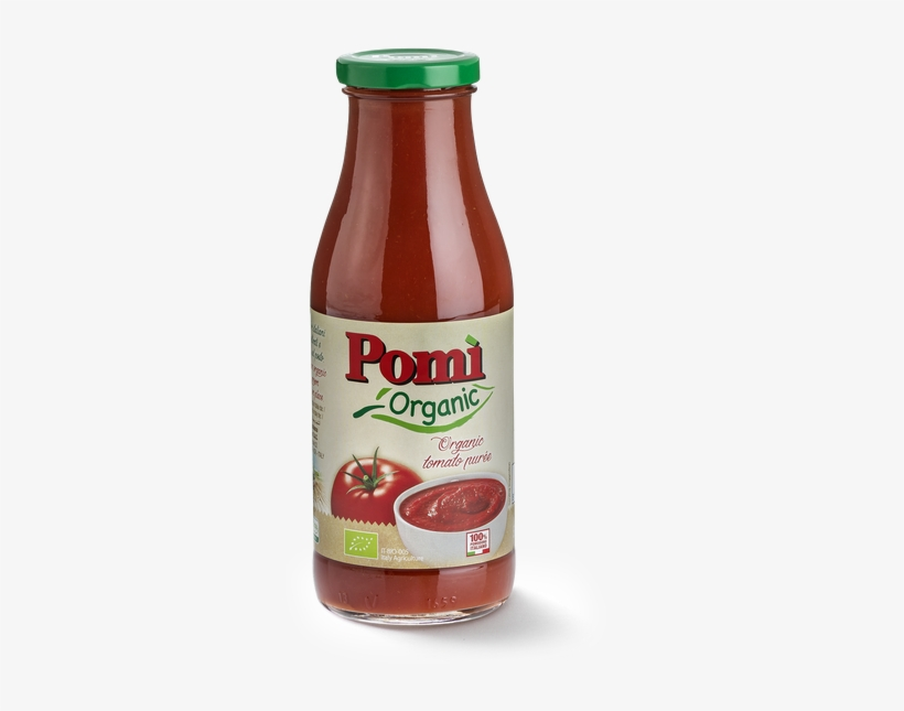 Organic Tomato Purée 500g - Pomi Organic Strained Tomatoes 26.46 Oz. (pack, transparent png #1327454