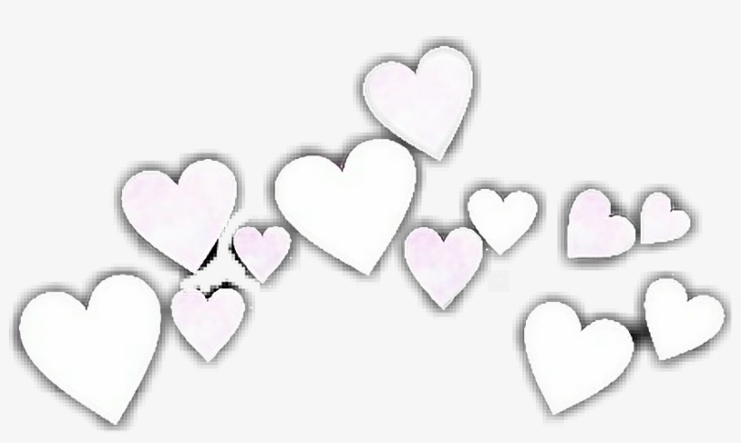 Report Abuse - White Heart Crown Png - Free Transparent PNG Download