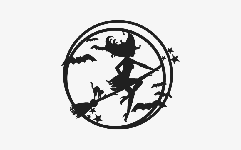 Halloween Witch Svg Scrapbook Cut File Cute Clipart Free Witch For Cricut Free Transparent Png Download Pngkey