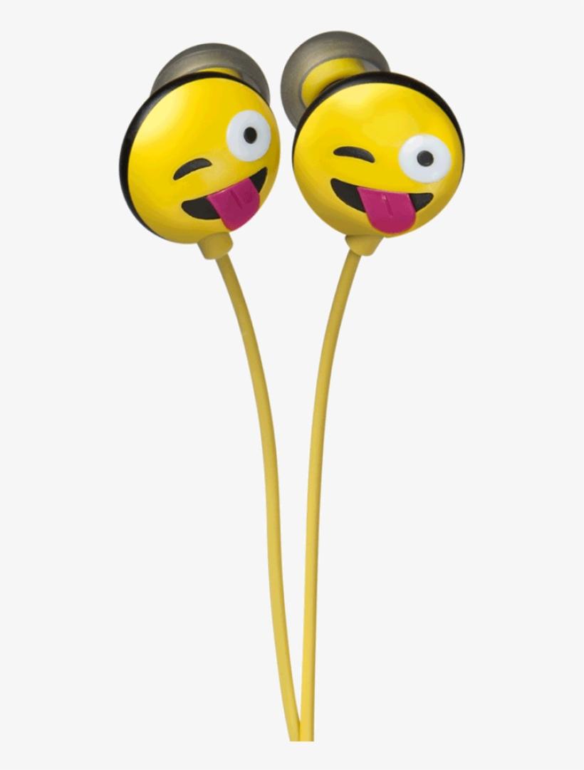 Jamoji In-ear Headphones - Jamoji Just Kidding In-ear Headphones, transparent png #1331798