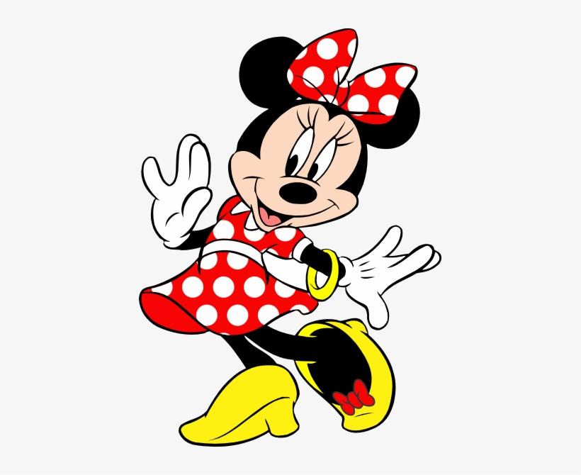Minnie Vermelha Png Picture Transparent Library Mickey Mouse