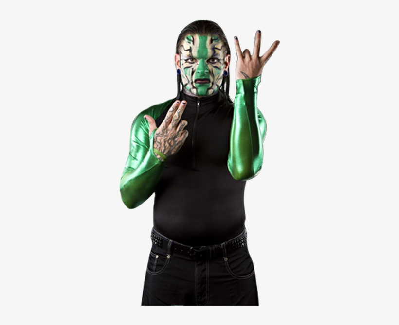 Jeff Hardy Green Face Paint - Jeff Hardy Face Paint Green, transparent png #1332351