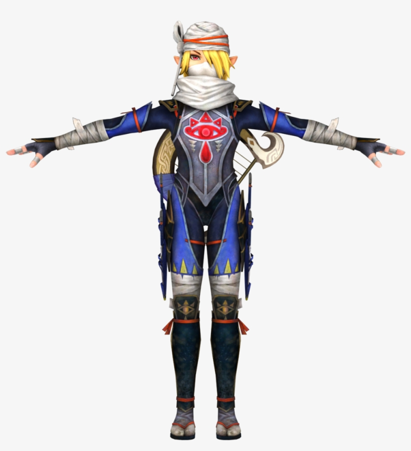 Hyrule Warriors The Legend Of Zelda Sheik Cosplay Free