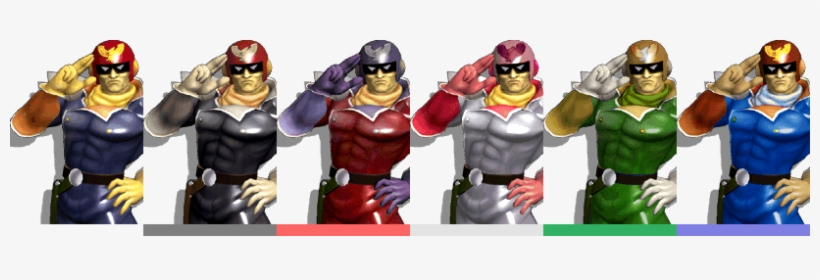 Dash Attack Is Another Option For Forcing Sheik To - Captain Falcon Melee Colors, transparent png #1333332