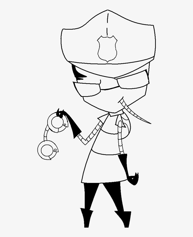 Invader zim coloring page | Invader Zim Amino | 1008x820