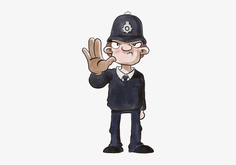Banner Royalty Free Policeman Drawing English Police Officer Uk