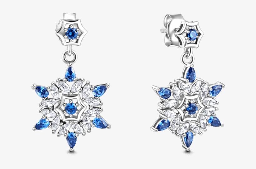 Earrings Soufeel Snowflake Earrings, transparent png #1335392