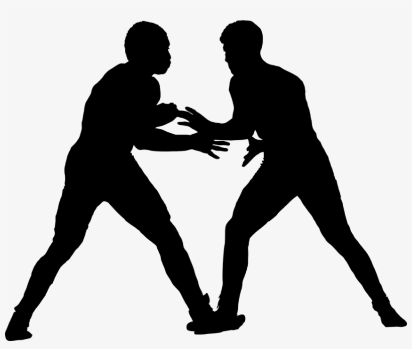 Free Png Sport Wrestling Silhouette Png Images Transparent - Wrestling, transparent png #1338029