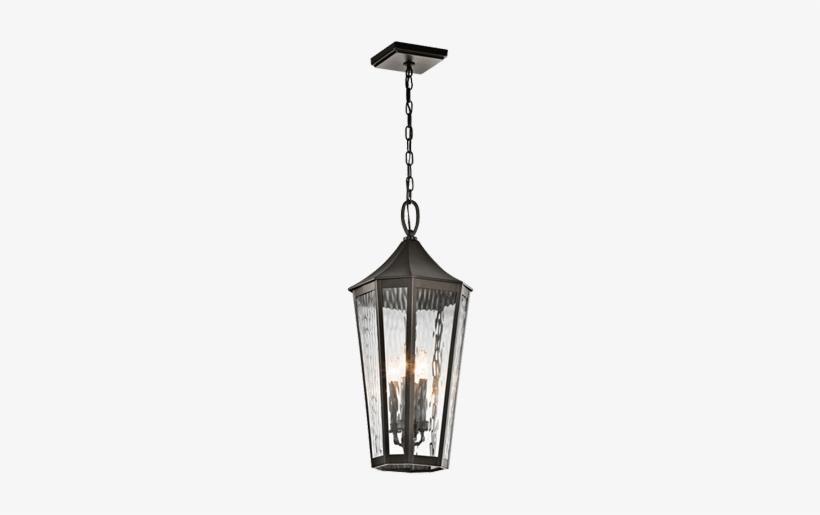 Wia - Kichler Rochdale 4-light Outdoor Hanging Lantern 49517oz, transparent png #1338434