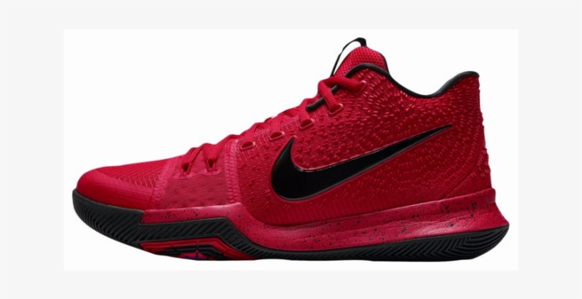 6808ba666cdb Nike Kyrie 3 University Red Deadstock Three-point Contest - Red Kyrie 3  Transparent