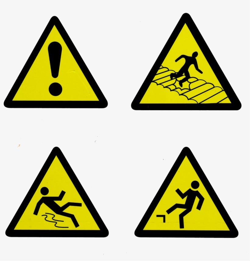 Safety, Signs, Symbol, Danger, Caution, Icon, Warning - Caught In Between Hazard, transparent png #1338800