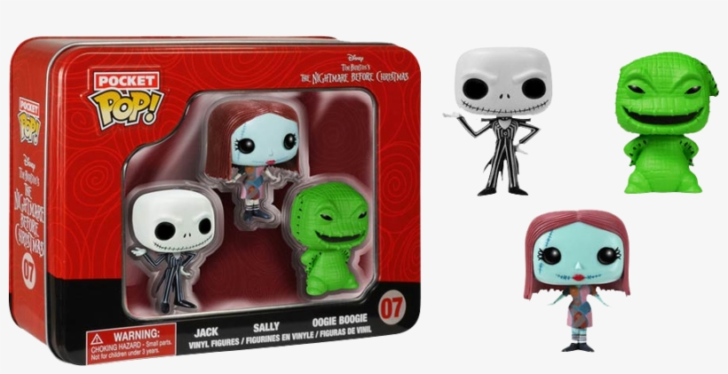 The Nightmare Before Christmas - Funko Pop Nightmare Before Christmas Set, transparent png #1338939