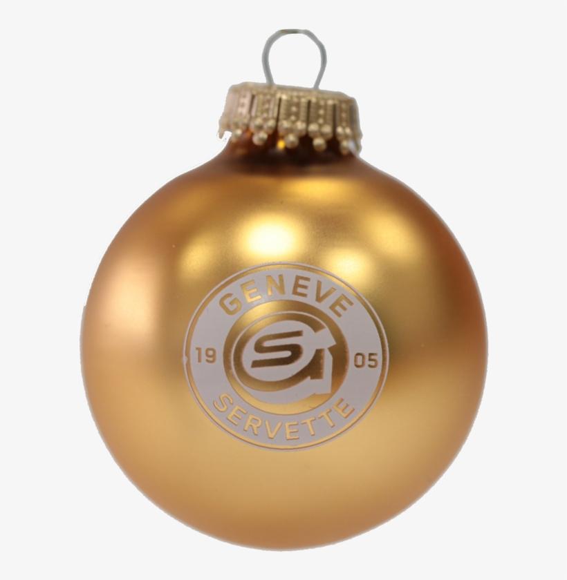 Gshc Glass Ball Ornament - Christmas Ornament, transparent png #1342957