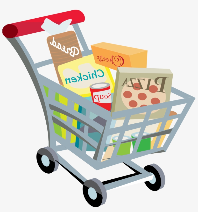Full Grocery Cart Clipart Full Grocery Ca...