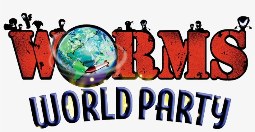 Another Online Multiplayer Game Has Been Restored To - Worms World Party Logo, transparent png #1344168