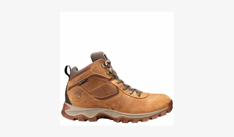 Mens Timberland Boots Mt Maddsen Light Brown Hiking - Timberland Men's Mt Maddsen Mid Waterproof Hiking Boots, transparent png #1345589