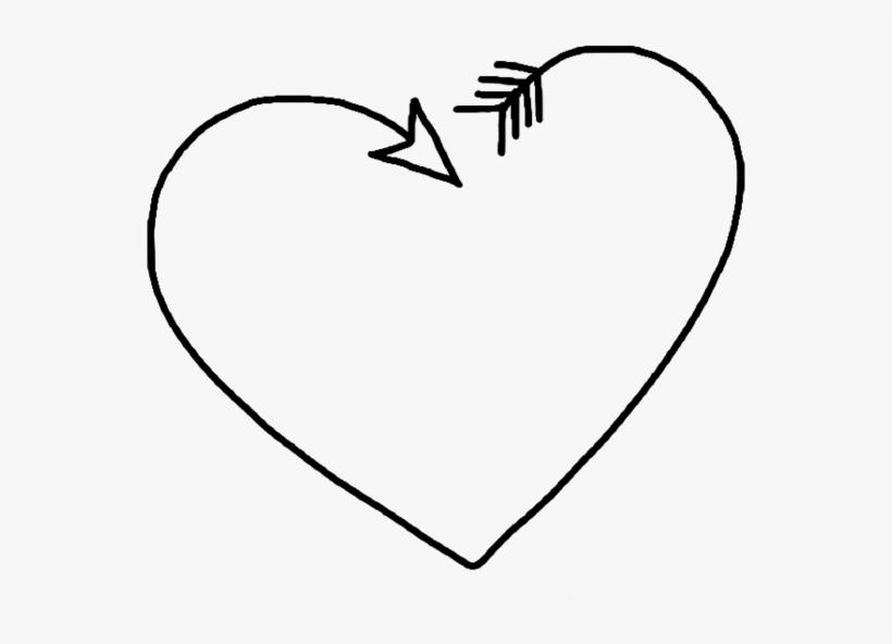Corazón Png Black Tumblr White Heart Corazon Transpa 1348384