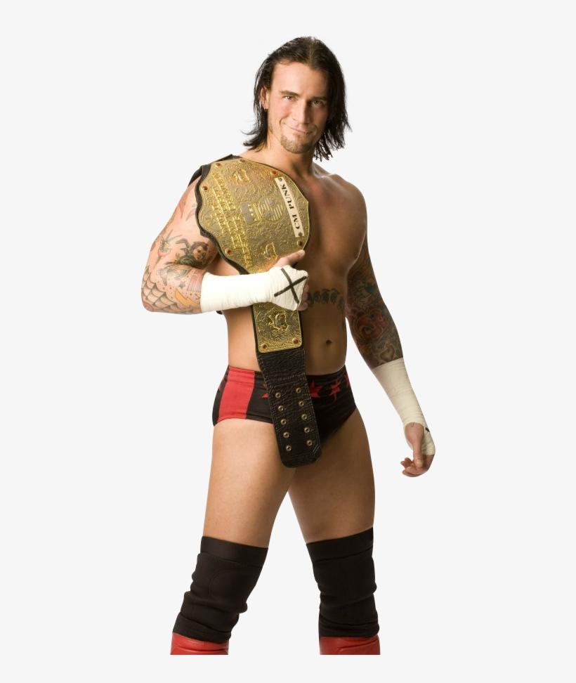 14 Mar 2011 - Cm Punk World Heavyweight Champion Png, transparent png #1348605