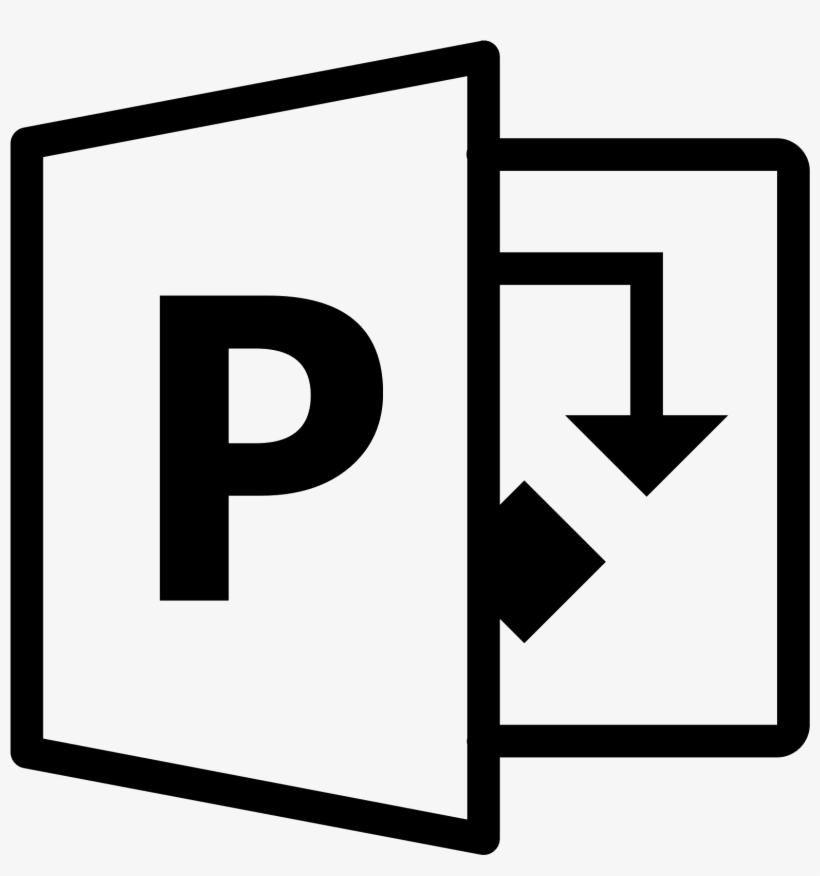 Microsoft Office Project Icon - Icone Power Point Png - Free