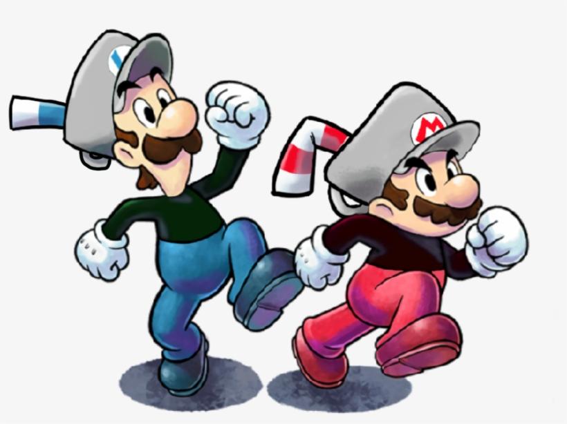 Noka🐌 - Mario And Luigi Paper Jam Mario, transparent png #1349324